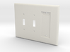 Philips Hue Dimmer 3 Gang Switch Plate R 3d printed