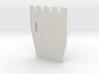 HOF033  - Castle wall 3 3d printed