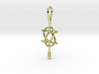 Double Ankh Pendant - Egyptian Jewelry 3d printed Render - Double Ankh Pendant