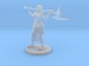 Female Mountain Barbarian 3d printed