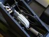Saitek Rudder Pedals - replacement toe brake cog 3d printed Replacement part installed