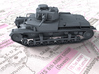 1/87 (HO) Scale Czech ST vz. 39 Medium Tank 3d printed 3d render showing product detail