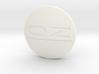 OZ center cap Nabendeckel - OZ Emblem curved 3d printed