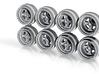 Work Equip40 7-5 JH2 Hot Wheels Rims 3d printed