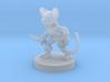 Mousefolk Rogue 3d printed