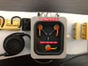 1:8 BTTF DeLorean Flux Capacitor set 2 of 2 UV WG 3d printed Complete flux capacitor (set 1 and 2) on the bulkhead