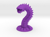 Purple Worm 3d printed