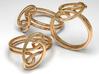 Celtic Design Ring - size P (UK) 3d printed