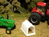 "1/64th ""S"" Scale Calf Hutch set of Six 3d printed Tractors are for size reference only."
