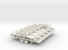 N Scale Roadrailer 10 pack plus coupler mate 3d printed