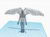Microman Articulated Angel Flight Pack 3d printed