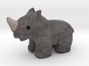 Rhino Wildlife Figurine 3d printed
