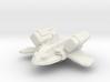 XM1 Gunboat Fighter  3d printed