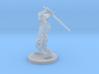 Dragonborn Barbarian with Sword 3d printed