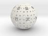 Menger Sphere 3d printed