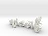 3dWordFlip: wiccit/dgyl 3d printed