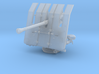 1/100 DKM 3.7cm Flak M42 Single Mount 3d printed