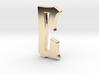 """C"" Pendant  3d printed"