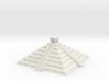 3mm Chichen Itsa-Style Pyramid 3d printed