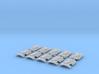 10x Wolf Rampant- Marine Boarding Shields w/Hand 3d printed