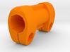 Clamp for 16mm U-Locks and Eazykf Abus bracket 3d printed