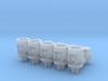 Winteb Air pipe heads_DN150_1:32 for damen ships 3d printed