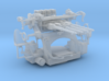 1/200 USN 1.1 inch 75 (28 mm) Quad Mount Gun Set 3d printed