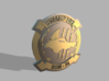 Swamp Fox Coin 3d printed these are only renders
