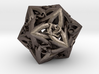 Celtic D20 - small (18mm) 3d printed