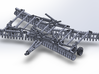 32' HD Double-Offset Folding Disc Harrow - Parked  3d printed