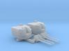 "1/600 Battle Class 4.5""/45 QF MKIV RP10 Gun x2 3d printed 1/600 Battle Class 4.5""/45 QF MKIV RP10 Gun x2"