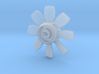 NS 6400 fan. Scale 1 (1:32) 3d printed