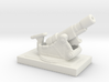 SKODA 305mm  M1916 172 ww1 artillery 1/285  3d printed