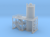Fuel tank Tower Z scale 3d printed Fuel or Water or oil tank Z scale