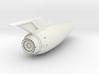 Federation lower hull II 3d printed