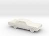 1/72 1965 Mercury Breezeway Sedan 3d printed