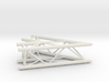 Square truss L45 1:10 3d printed