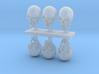 1:9 scale Skulls 3d printed