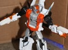 Transformers Combiner Wars Powerglide-Style Booste 3d printed The Booster-Guns can work with other figures.