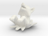 Leaping Fox Ornament 3d printed