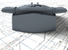 "1/200 HMS Hood 15"" (38.1 cm) Mark II Turrets 1920 3d printed 3d render showing B Turret detail"