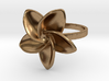 Frangipani Plumeria Ring - 18 mm 3d printed