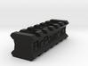 Back-to-Back 6-Slots Picatinny Rails Adapter 3d printed