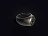 Imperial Signet Ring 3d printed 3D visualization of the ring in Stainless Steel
