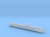 Tango-class SSK, Full Hull, 1/2400 3d printed
