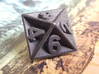 D8 - Plunged Sides 3d printed The D8 Steel.