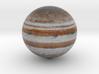 Jupiter 1:1 billion 3d printed