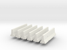1/64th Concrete Jersey Barriers set of 6 3d printed