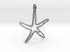 starfish pendant jewerly 3d printed