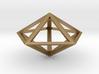 "Pentagonal Bipyramid 1"" 3d printed"